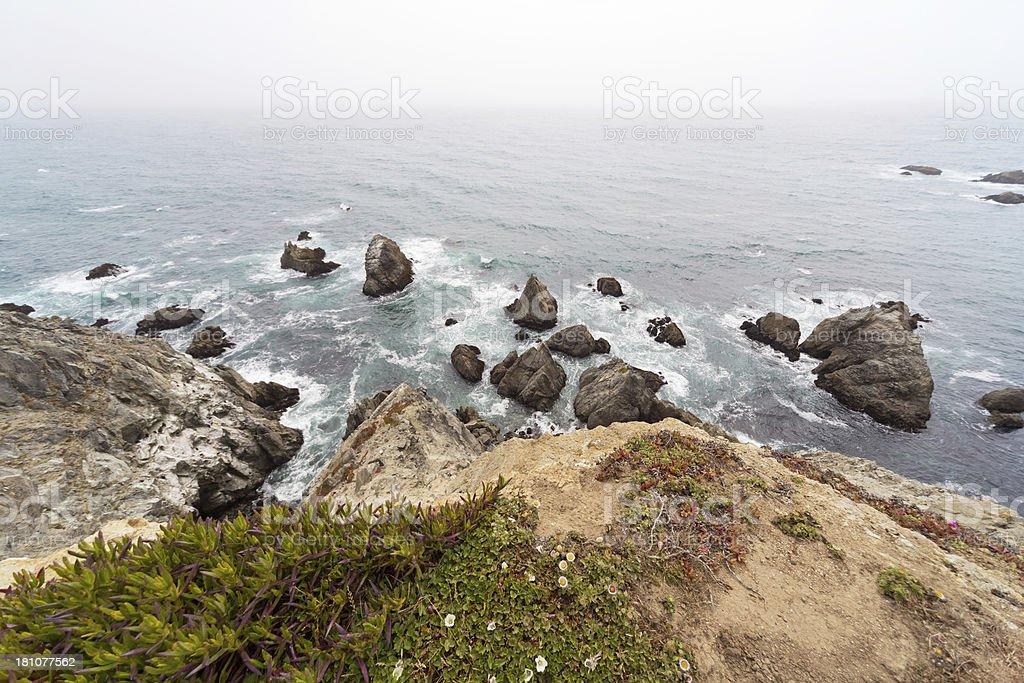 Northern California Shore royalty-free stock photo