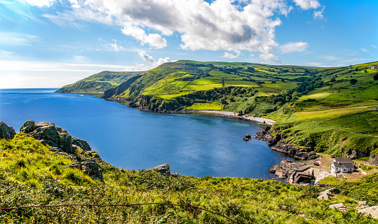 Northern Coast Of County Antrim Northern Ireland Stock Photo - Download Image Now