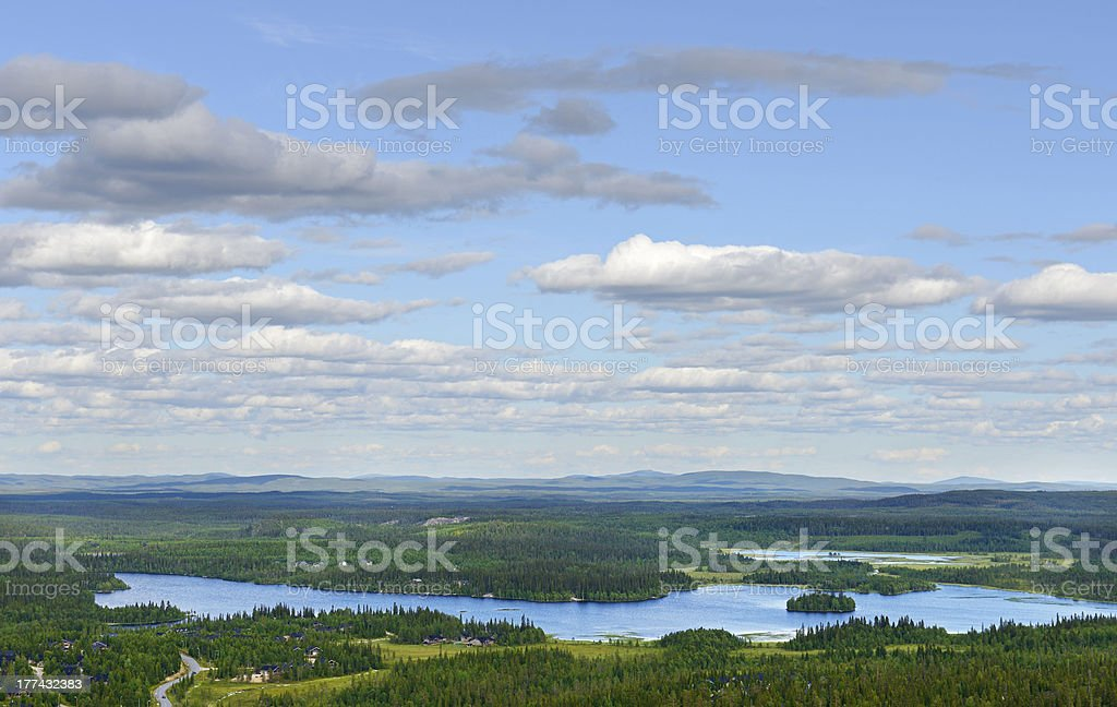 Northern expanses stock photo