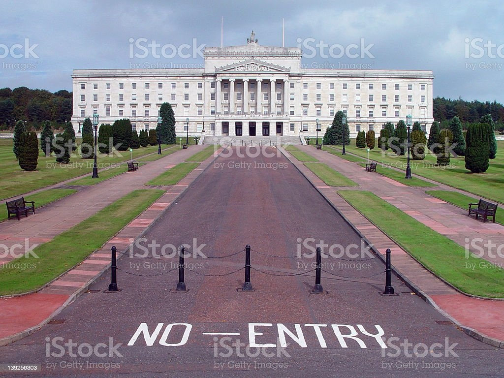 Northern Ireland Parliament Building royalty-free stock photo