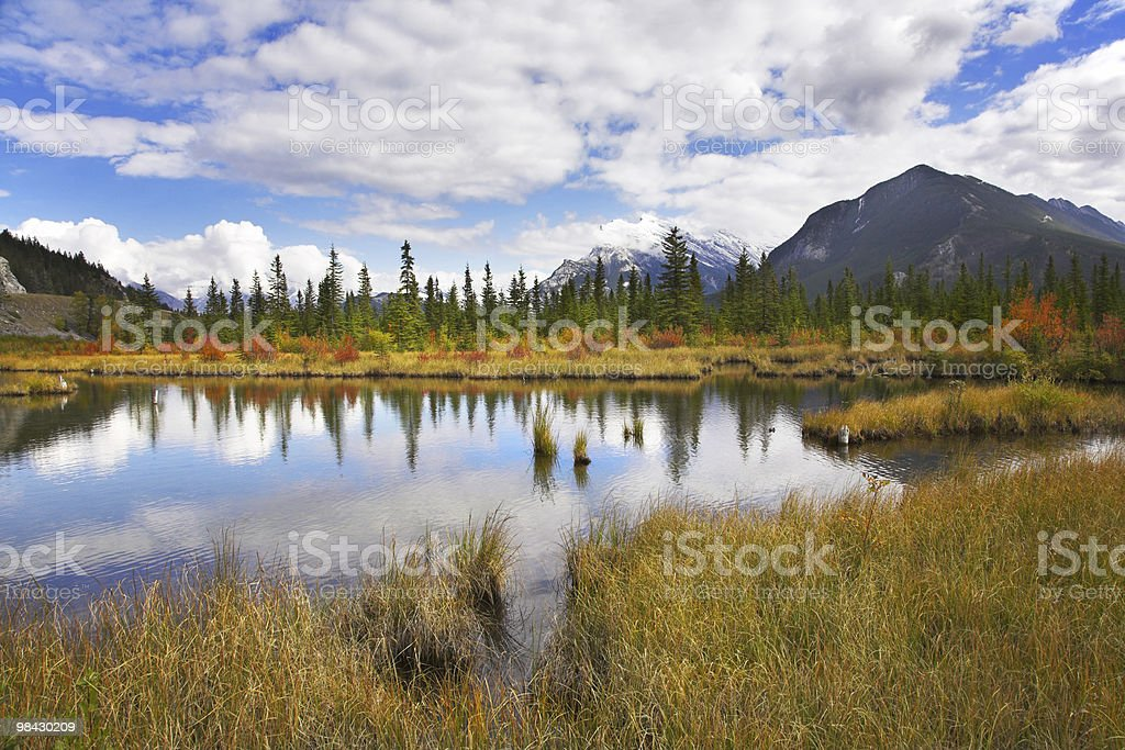 Northern Lago foto stock royalty-free
