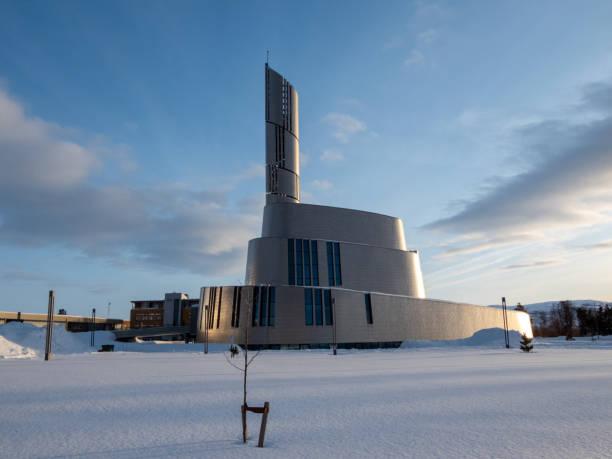 Kathedrale von Northern Lght, Alta, Norwegen – Foto