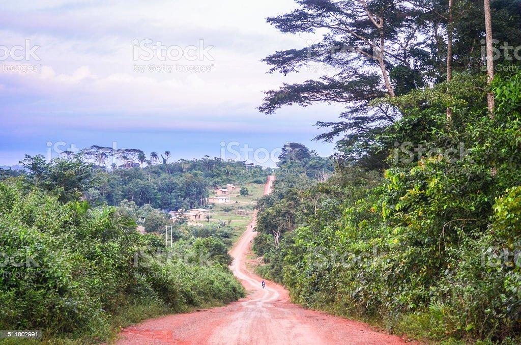 Northern Liberia stock photo