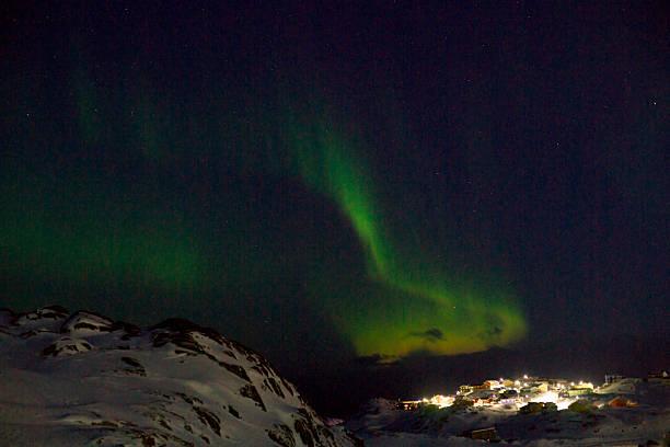 Northern lights über Sisimiut – Foto