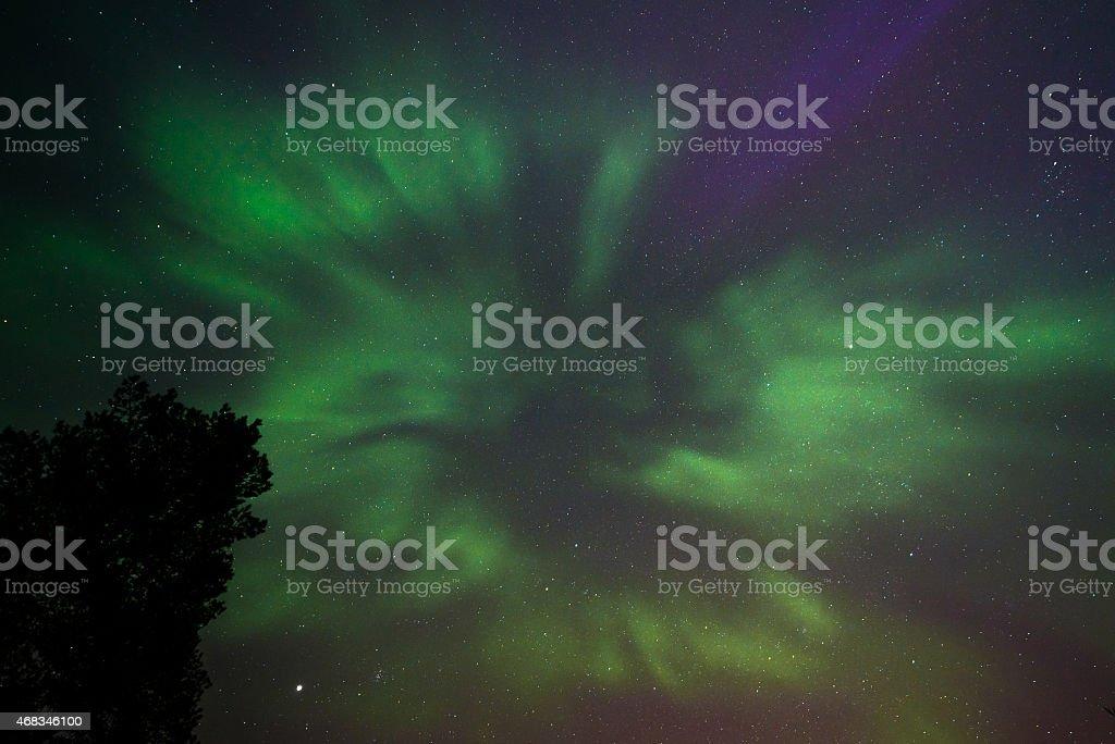 Northern lights royalty-free stock photo
