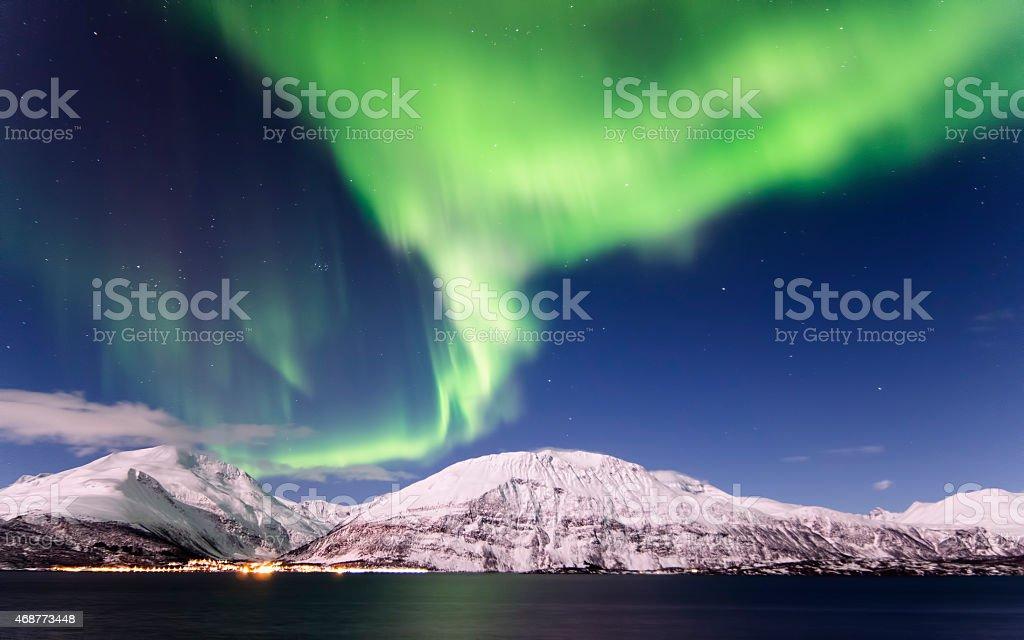 Northern Lights stok fotoğrafı