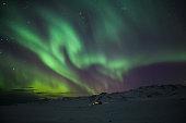 Aurora Borealis, photographed in Arctic Norway
