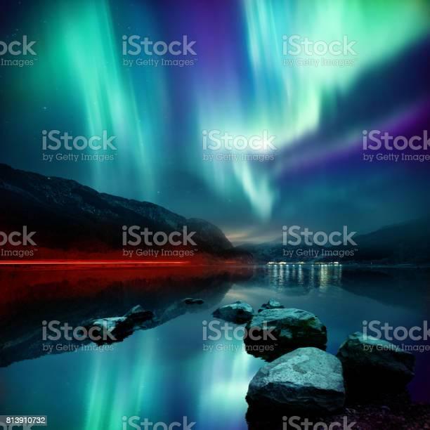 Photo of Northern Lights (aurora borealis)