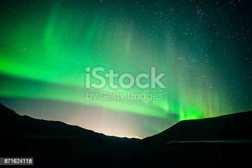 istock Northern lights 871624118