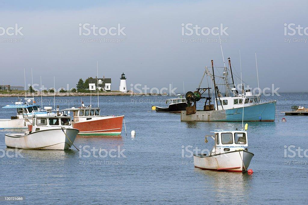 Northern Maine stock photo