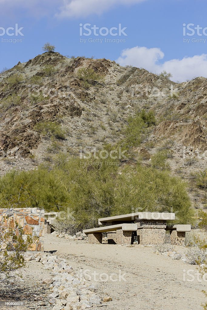 Northern Mountain Park, Phoenix,  AZ royalty-free stock photo
