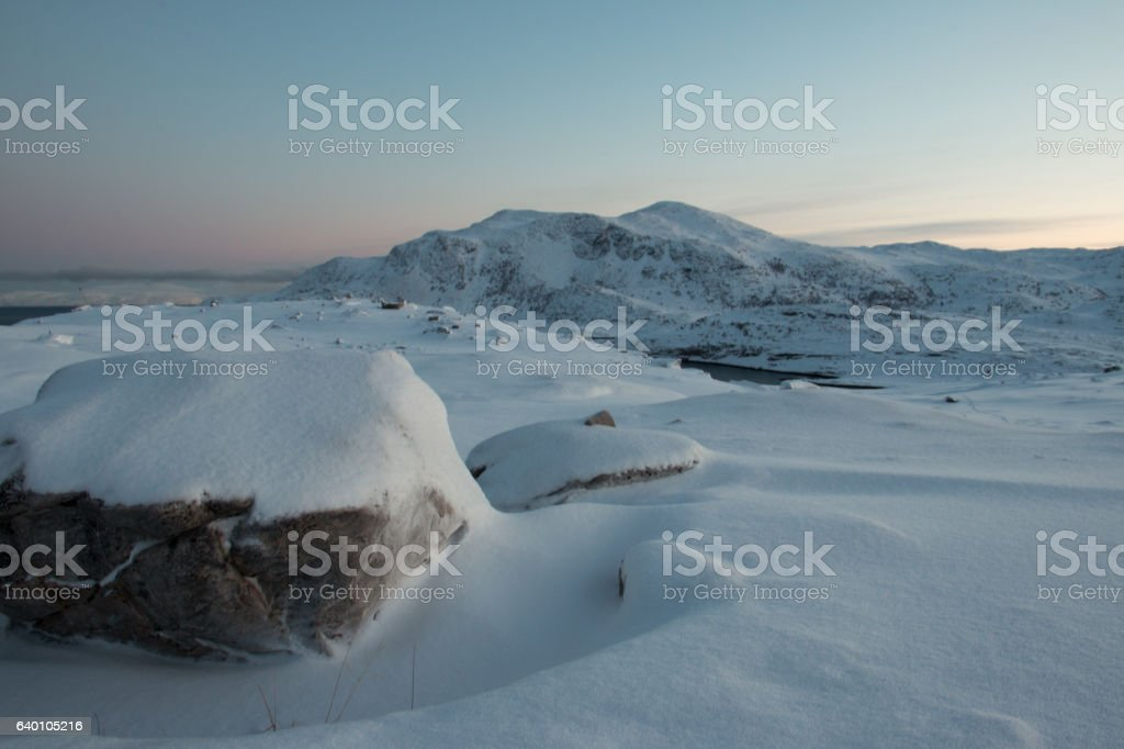 Northern Norway stock photo