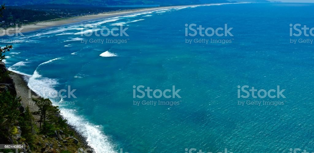 Northern Pacific Ocean royalty-free stock photo