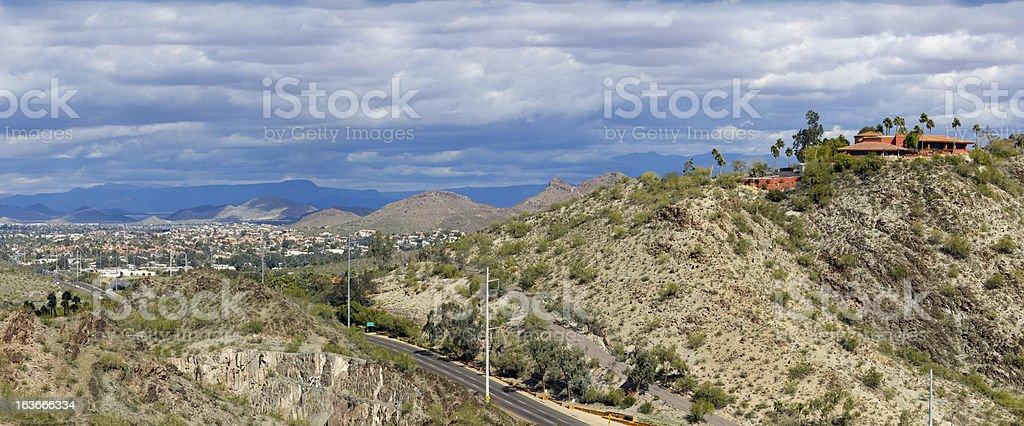 Northern Phoenix and Scottsdale, AZ royalty-free stock photo