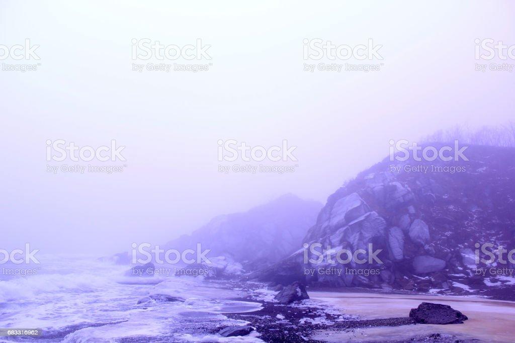 Northern sea royalty free stockfoto
