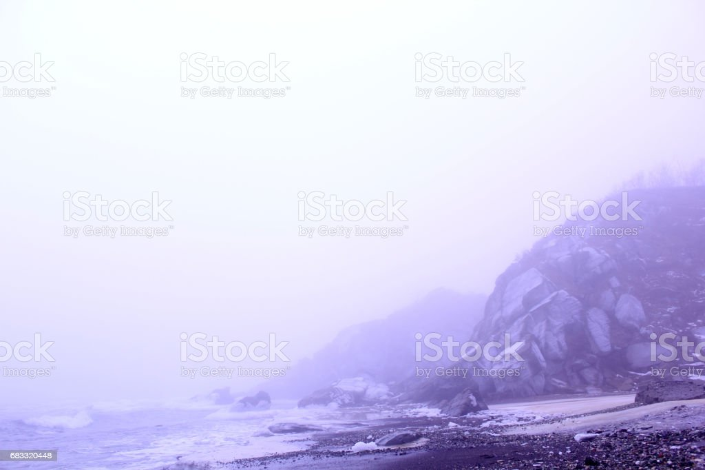Northern sea royalty-free stock photo