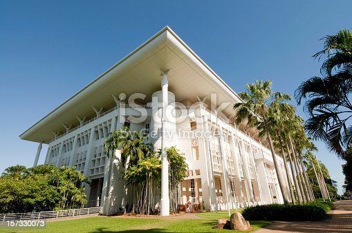 The parliament building for Australia's Northern Territories in Darwin, the State Capital.