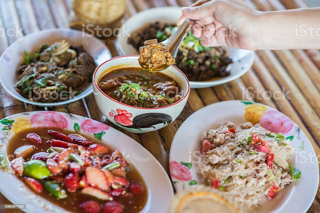 Northern Thailand Food royalty-free stock photo
