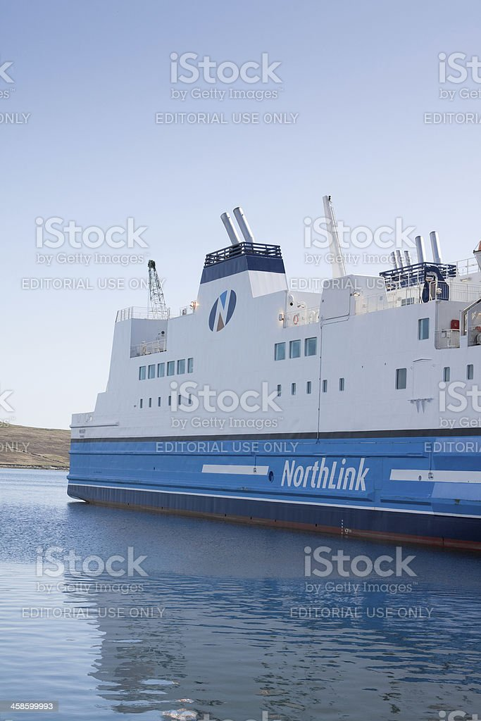Northlink Ferry royalty-free stock photo