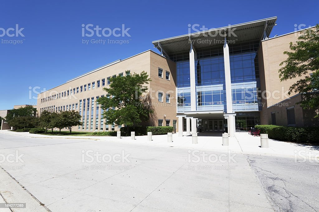 Northside College Preparatory High School in Chicago royalty-free stock photo