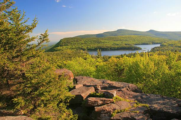 North-South Lake  catskill mountains stock pictures, royalty-free photos & images