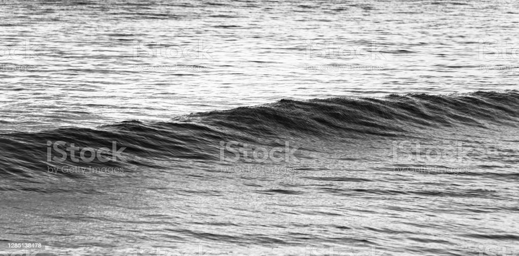 Northumberland coast Wave in the North Sea off the shoreline of Cullercoats/Tynemouth on the North East Coast of England. 2019 Stock Photo