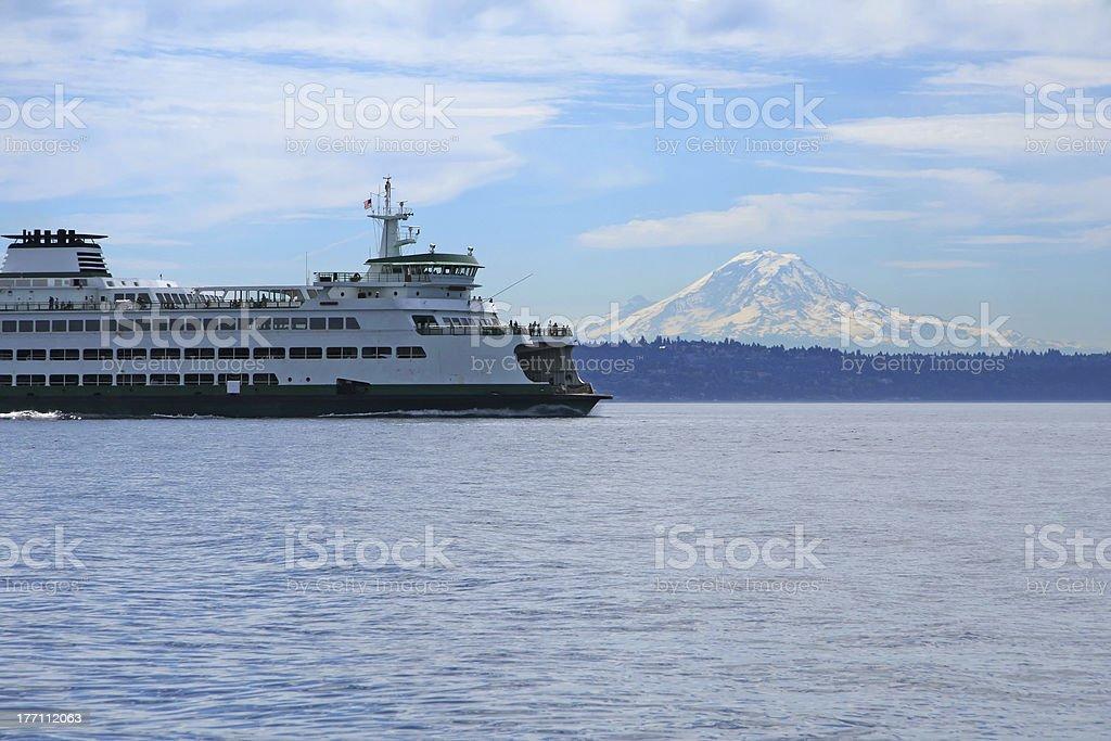 Northwest Ferry royalty-free stock photo