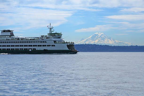 Northwest Ferry stock photo