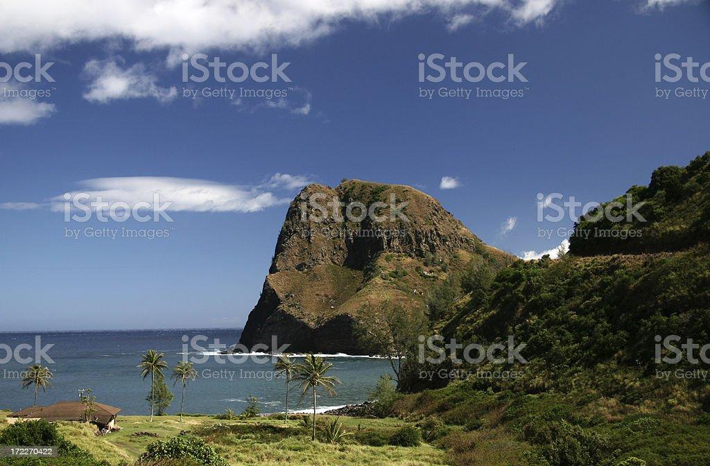 Northwest Maui Coastline royalty-free stock photo