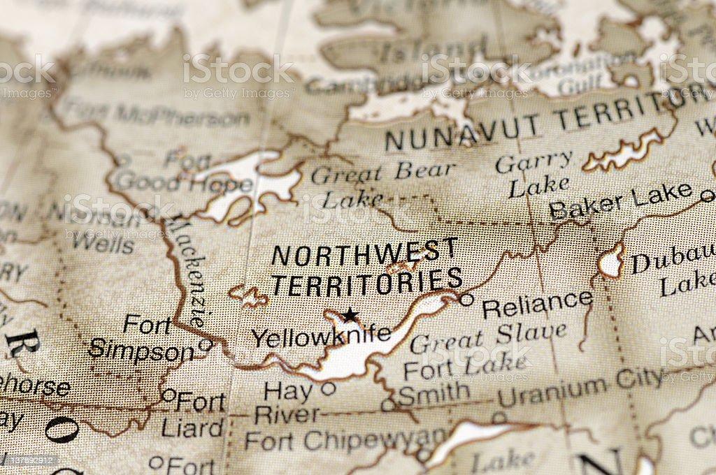 Northwest Territories stock photo