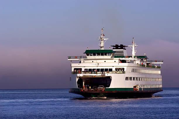northwestern ferry - veerboot stockfoto's en -beelden