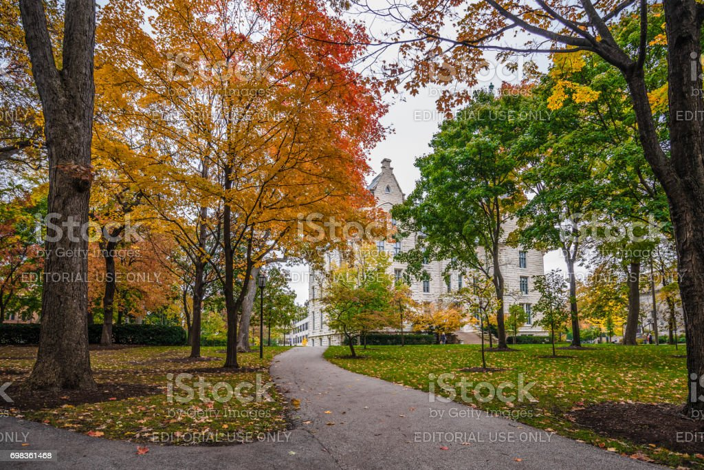 Northwestern University Campus royalty-free stock photo