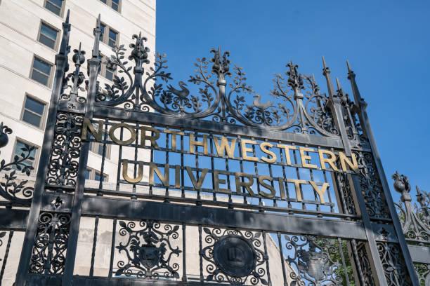 Northwestern University Chicago stock photo