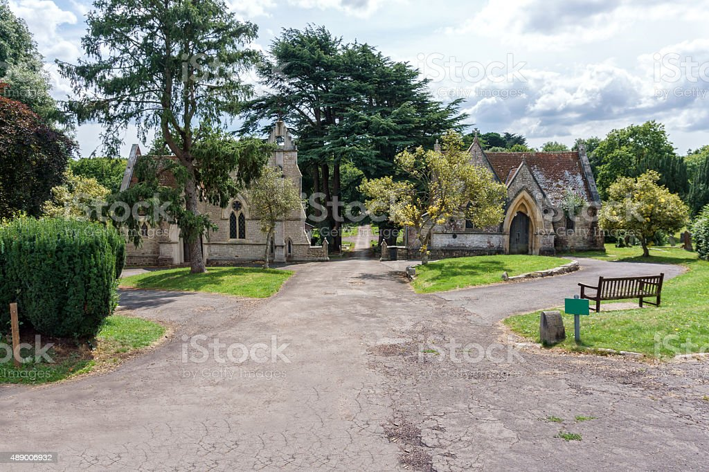 Northwood Cemetery stock photo