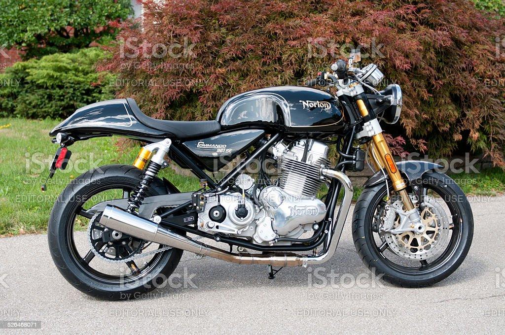 Norton Commando 961 SE stock photo