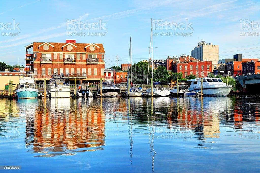 Norwalk, Connecticut stock photo