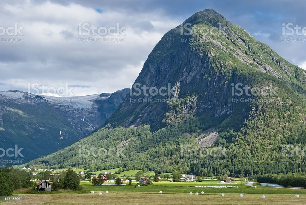 Norway, beautiful mountain landscape royalty-free stock photo