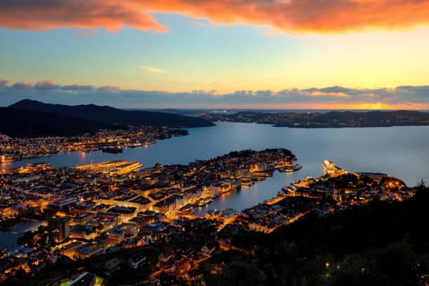 Norway Bergen stock photo
