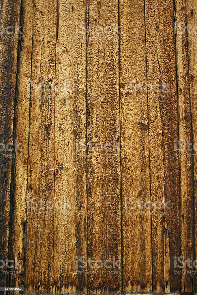 Norway church wooden wall stock photo