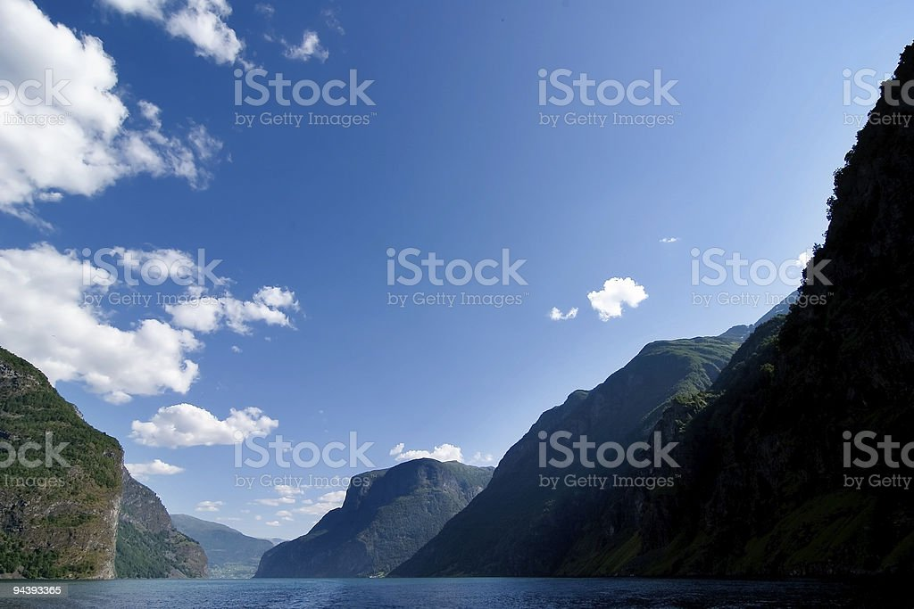 Norway Fjord Scenic royalty-free stock photo
