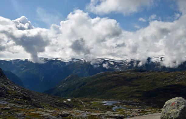 Norway fjords stock photo