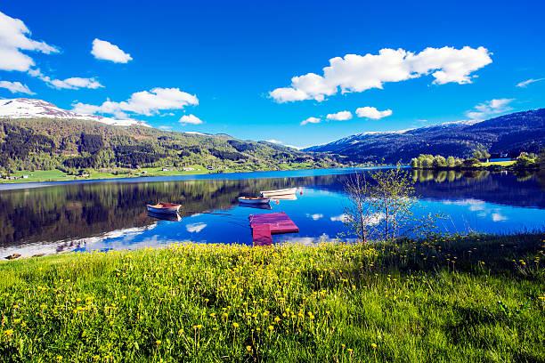 Norwegen im Frühling – Foto