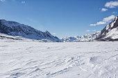 Winter in Norway in a wonderfull day