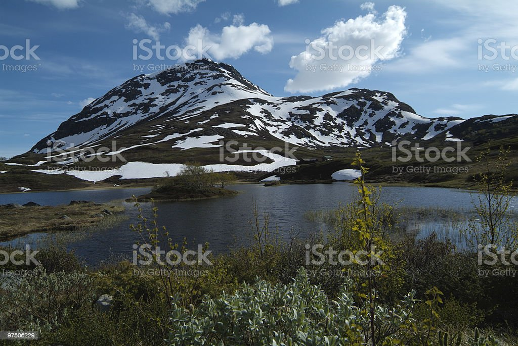 Norway, Jotunheimen Nationalpark royalty-free stock photo