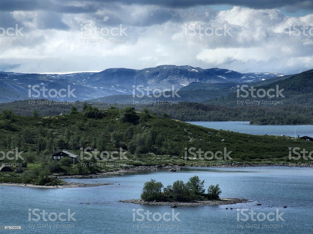 Norway lake royalty-free stock photo