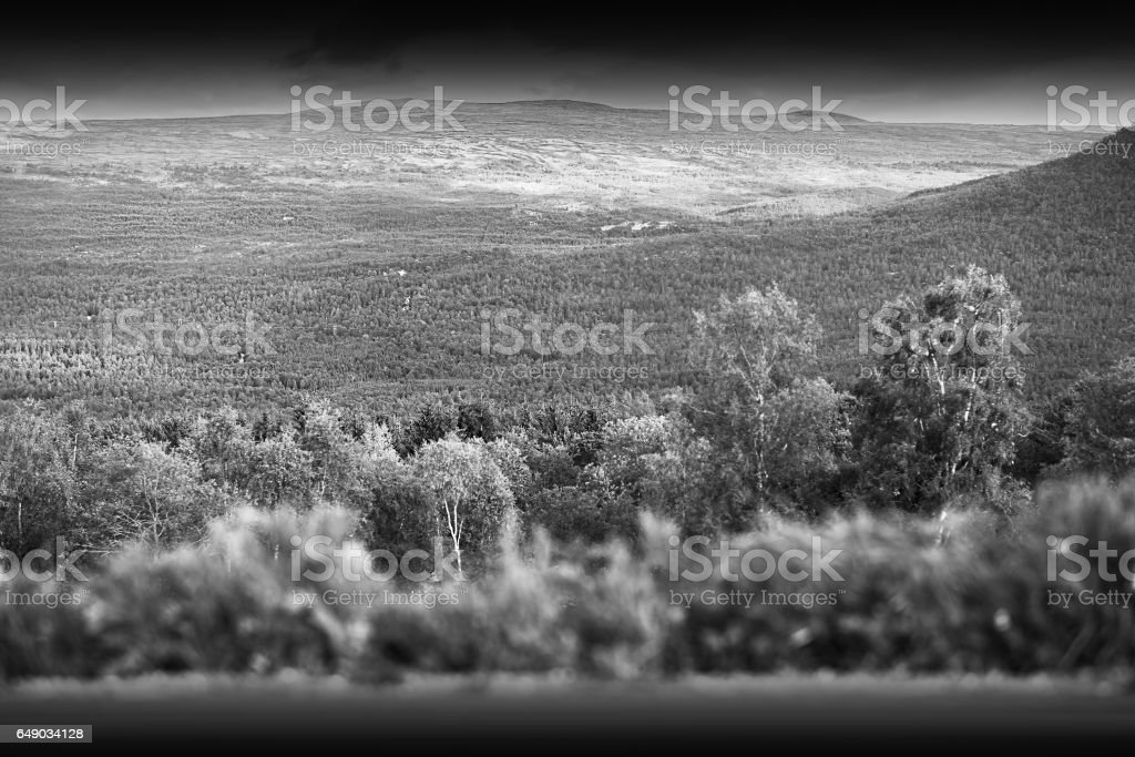 Norway mountain transportion road background stock photo