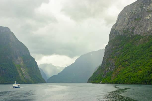 Norwegische Natur und Reise-Hintergrund – Foto