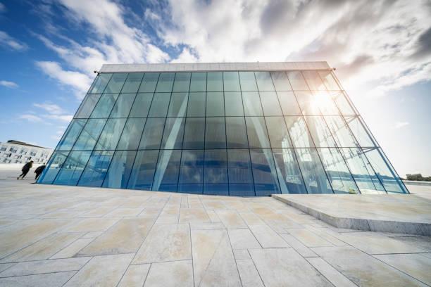 Norway Oslo Opera House Operahuset Modern Architecture