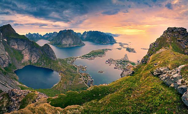 Noruega. - foto de acervo