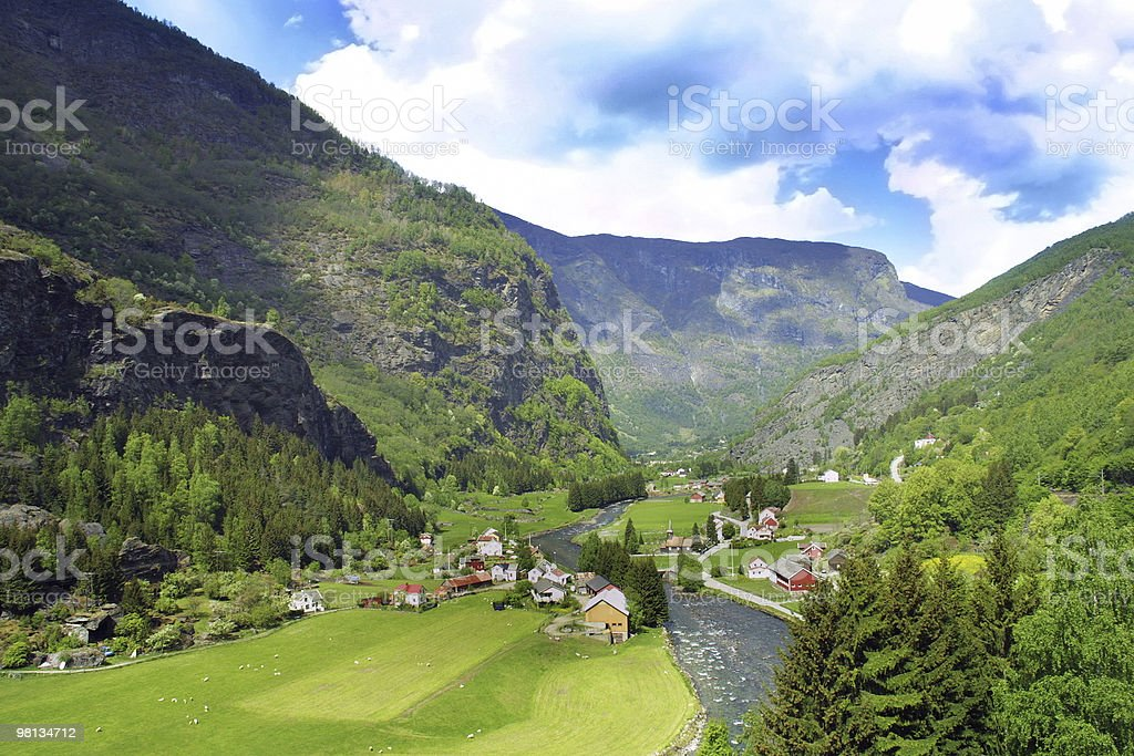 Norvegia foto stock royalty-free
